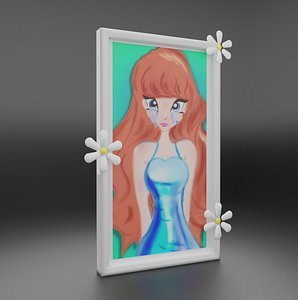 anime frame 3D