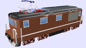424 electric locomotive 3D model