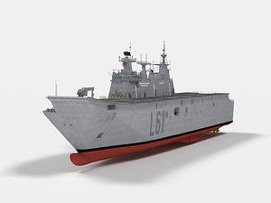 3D L-61 Juan Carlos I model