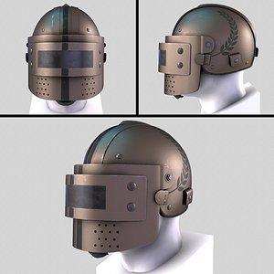 3D model Helmet K6-3