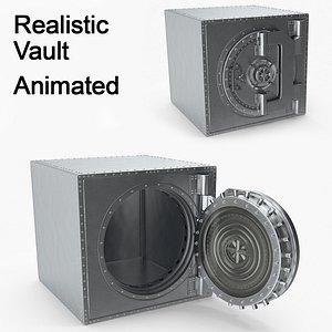 Realistic Vault 3D model