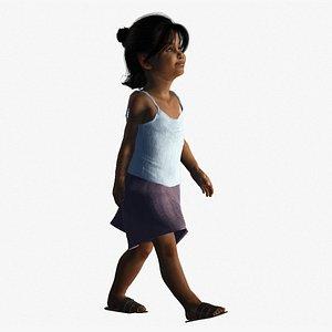 indian girl 3D