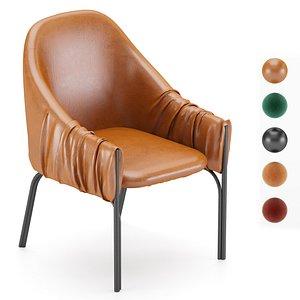 3D model Celine stuhl freifrau Armchair