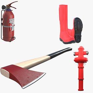 3D model Fire Equipment