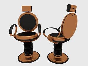 chair luxury 3D model