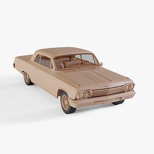 3D chevrolet impala ss