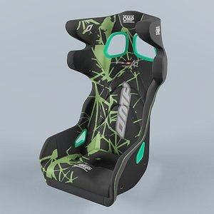 OMP HTE ART Seat Green model