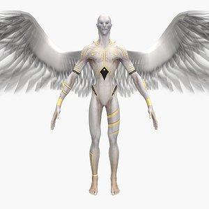 3D model devil angel