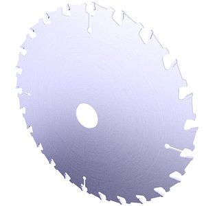 3D Circular Saw Blade 3D Model