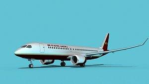 Bombardier CS100 Air Charter America 3D