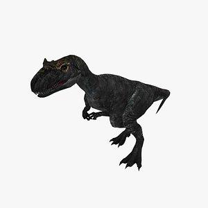 3D model allosaurus dinosaurs