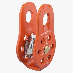 pulley industrial 3D model