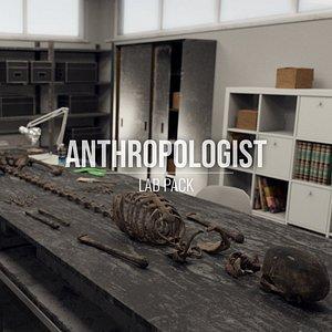 Anthropologist - Lab Pack - All Formats 3D model