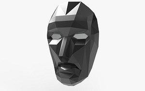 3D Squid Games Leader Mask