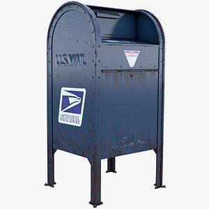 3D Mailbox(1) model