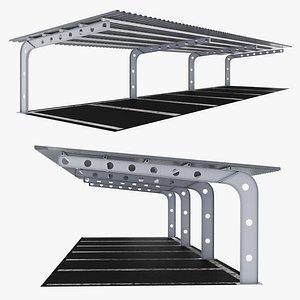 Parking Lot Canopy 3D model