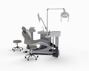 dental chair sirona 3D model