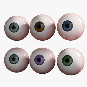 3D Cartoon Eye