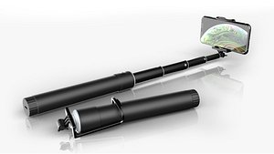3D selfie monopod stick