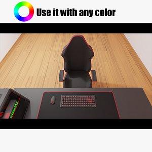 3D Gaming Set Up