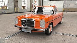 1972 Mercedes Benz W115 220 D Pickup 3D model