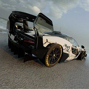 3D McLaren Senna GTR 2021 3D model