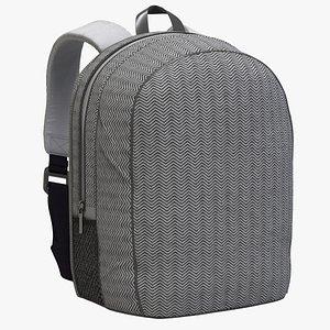 3D School Backpack