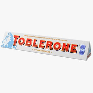 Toblerone White Chocolate Package model