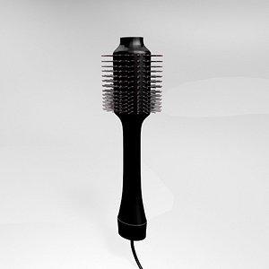 3D hair dryer volumizer brush