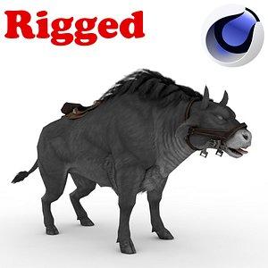3D model Black Buffalo Rig