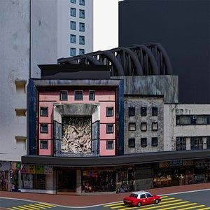 3D state theatre hong kong model