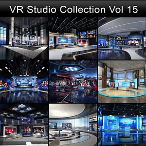 3D model VR Studio Collection Vol 15