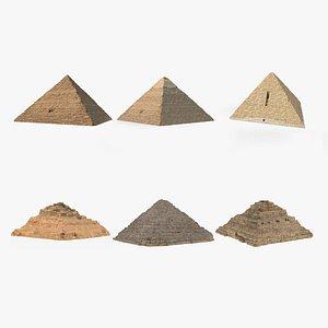3D Giza Pyramids