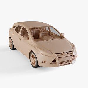 3D 2012 Ford Focus