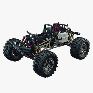 Radio Control RC Car 3D model