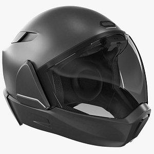 3D CrossHelmet X1 Smart Motorcycle Helmet Black