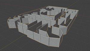 Maze for DnD model