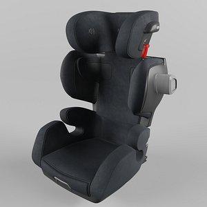 Recaro Mako Elite Children Car Seat Select Night Black 3D model