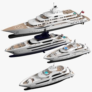3D Collection Yachts Willie Summer 2021 model