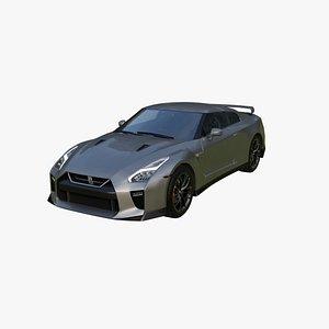 Nissan GT-R 2017 3D