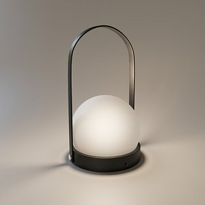 Menu Carrie LED Portable Lamp 3D model