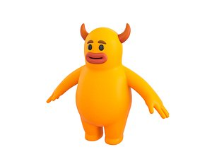 Character100 Monster model