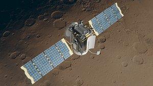 3D model Mars Communication Satellite
