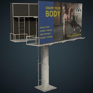 3D Billboard 2C