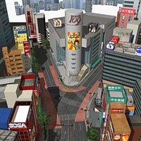 Japanese Streetscape Shibuya 109