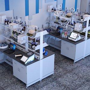3D Laboratory Small model