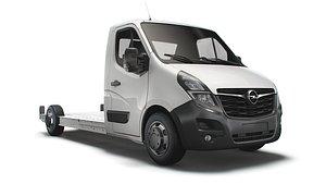 Opel Movano FWD LL35 L3H1 Platform Cab 2021 3D model