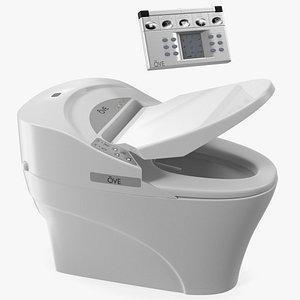 Ove Decors 735H Bidet Smart Toilet with Remote Control Panel model