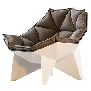 Q1 Lounge Chair By Odesd2 3D