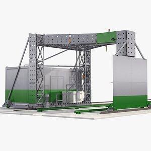 Gantry Inspection System 3D model